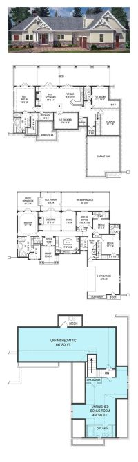 Partial basement house plans - Home design and style