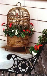 1000+ images about Bird cages in the garden on Pinterest ...