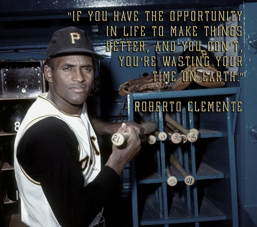 My all time favorite quote by one of my all time favorite ball players.