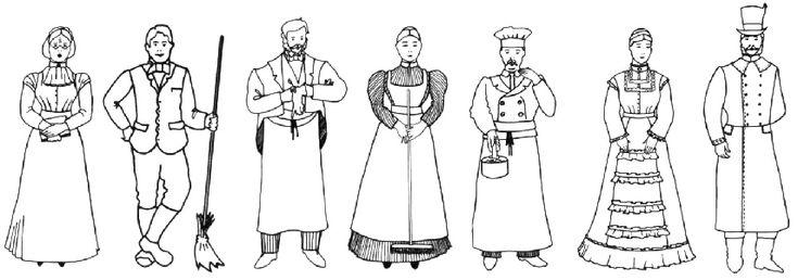 17 Best images about Victorian Era Servants & Staff on