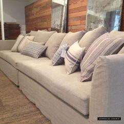Slipcovers For Sofa Beds Cost To Recover Uk Sillones Con Funda De Lino   Iaia Deco Pinterest ...