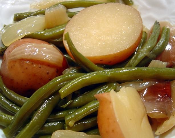 Ham, Green Beans, and Potatoes in s