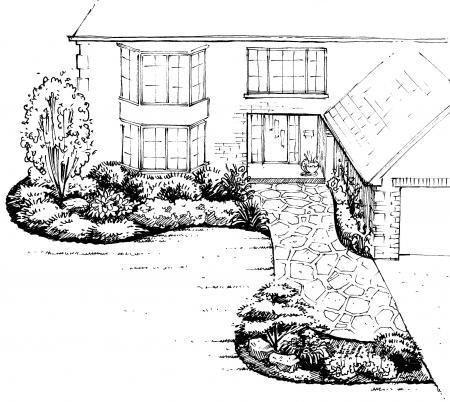 Top 25+ best Front yard landscape design ideas on