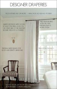 Best 25+ Curtain trim ideas on Pinterest