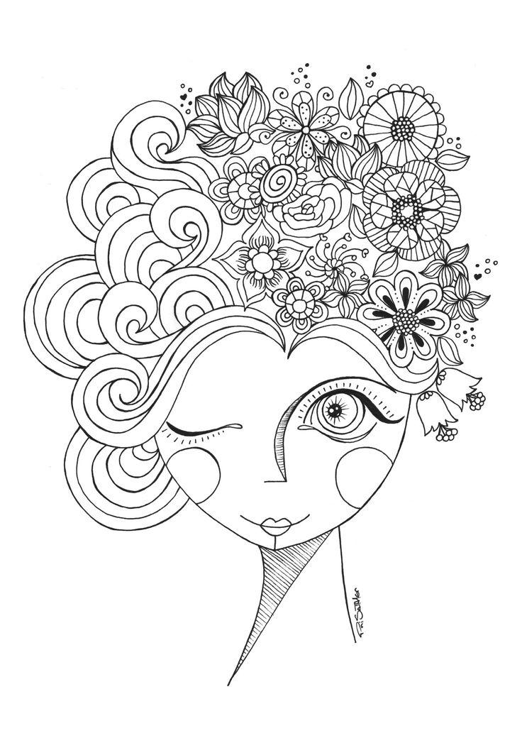 1713 best images about desenhos para colorir on Pinterest