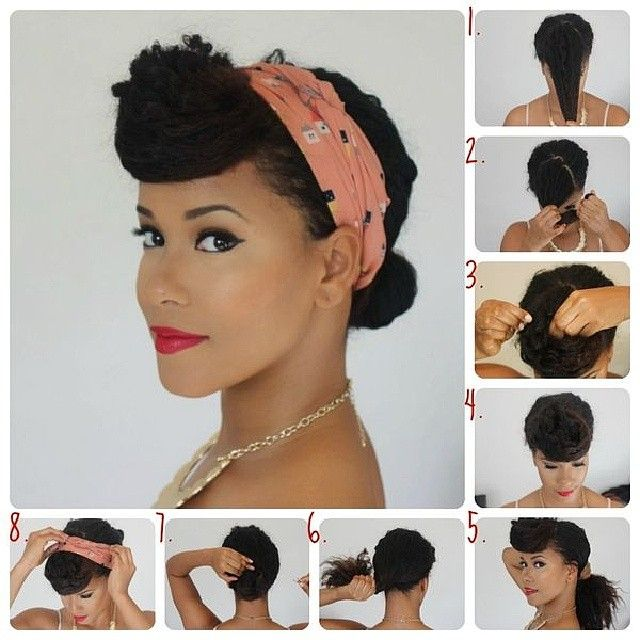 72 Best Images About Naturally Curly And Vintage Pinup Hairstyles