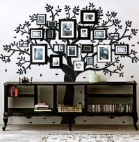 I love this!!! Family tree wall decal photo frame tree by ...
