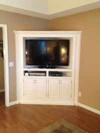 25+ best ideas about Corner Tv Cabinets on Pinterest ...