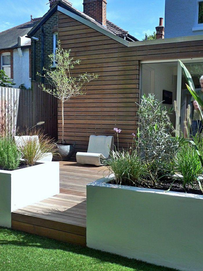 Die 25 Besten Ideen Zu Garten Terrasse Auf Pinterest Hinterhof
