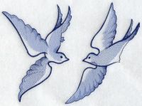 blue willow bird embroidery pattern - Google Search ...