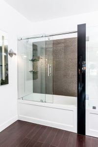 Best 25+ Tub glass door ideas on Pinterest | Shower tub ...