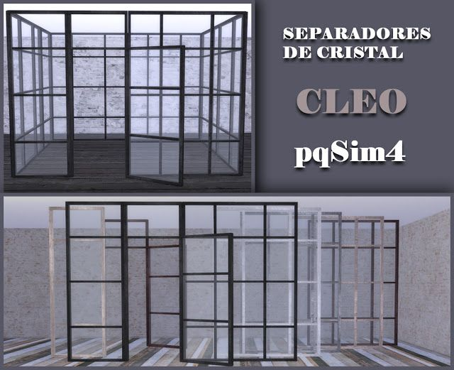 Sims 4 Cc's  The Best Cleo Windows By Pqsim4  Sims 4 Cc
