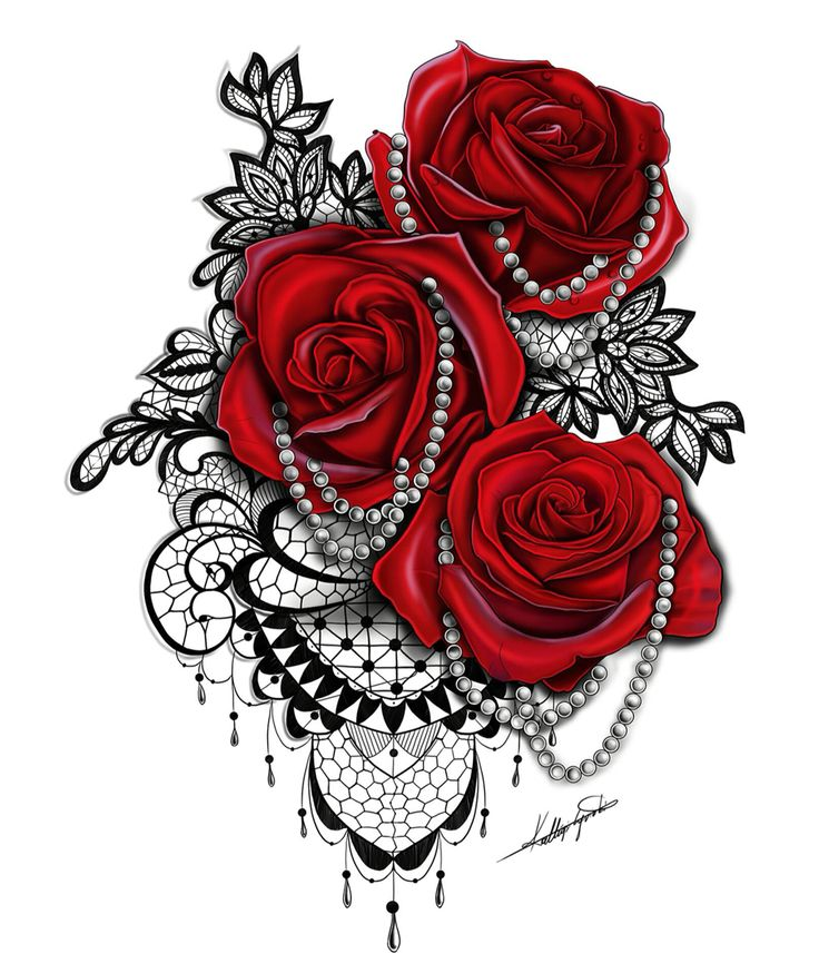 25+ best ideas about Rose Tattoos on Pinterest
