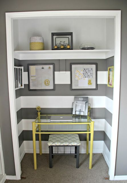 1000 ideas about Closet Office on Pinterest  Closet desk