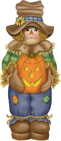 halloween autumn fall scarecrow