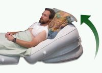 "Acid Reflux Bed Wedge PATENTED System 30"" wide by 30"