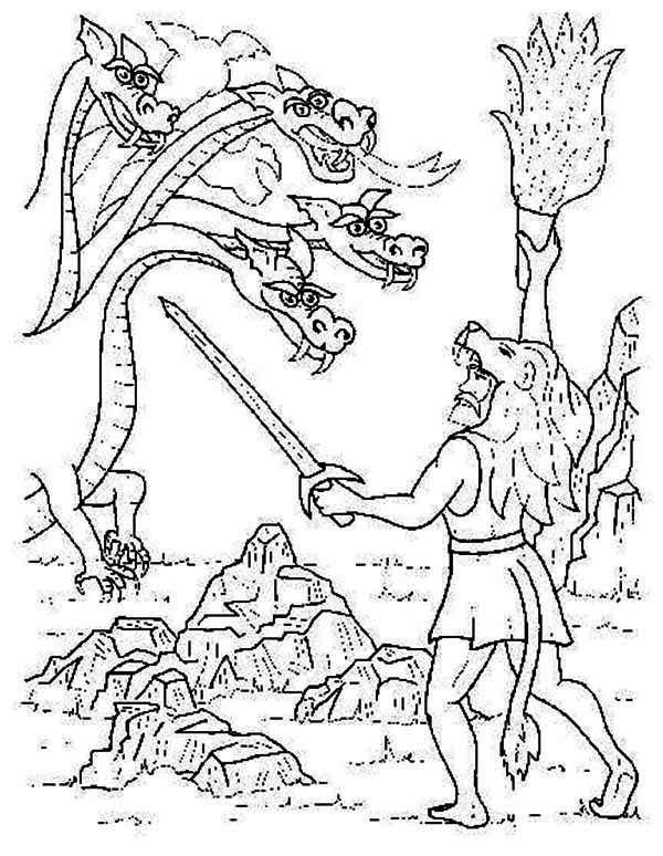 Greek Mythology, : Greek Mythology Story of Fighting the