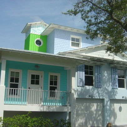 Bungalow Tin Roof House Colors Key West Eclectic Home