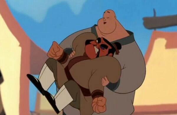 Mulan the Soldier in Fat Bing images