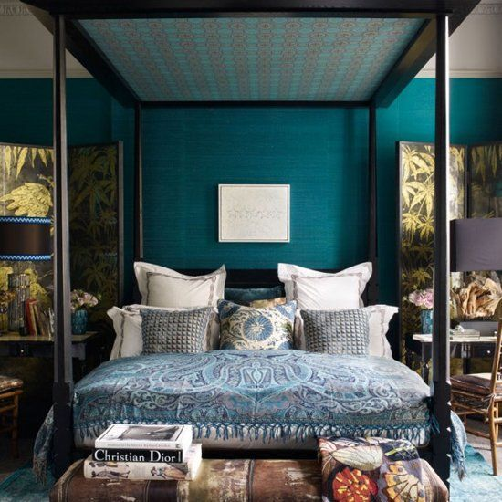 1000+ ideas about Teal Bedrooms on Pinterest