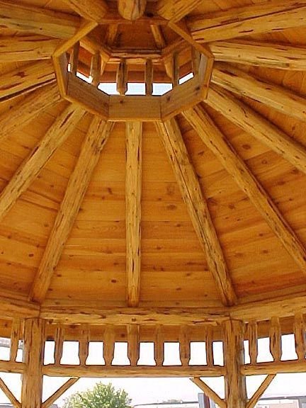 Octagonal Cupola In Knotty Pine New Addition Ideas