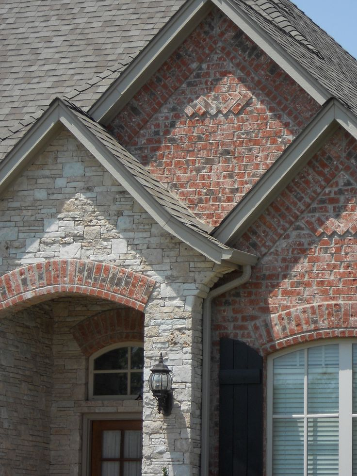 possible brick and stone for exterior of home  Home  Pinterest  Texas homes Entryway and