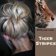 tiger stripes hair colour inspiration