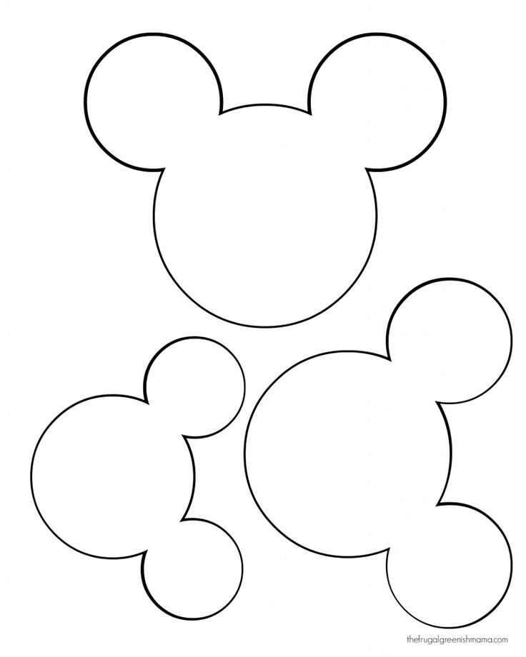 25+ best ideas about Mickey Mouse Stencil on Pinterest