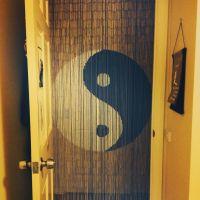 Yin-yang door beads | My kind of shit! | Pinterest | Door ...