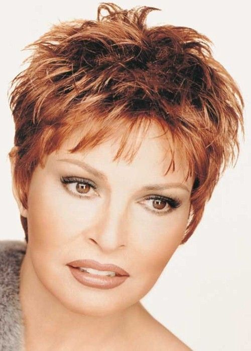 Raquel Welch Short Hairstyles  Raquel Welch Red Ladies