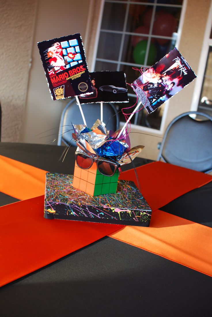 80s Rock Centerpieces And Rocks On Pinterest