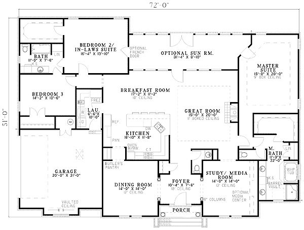 17 Best Images About House Plans On Pinterest Monster Log Source Plan Bedrooms Baths Two Story