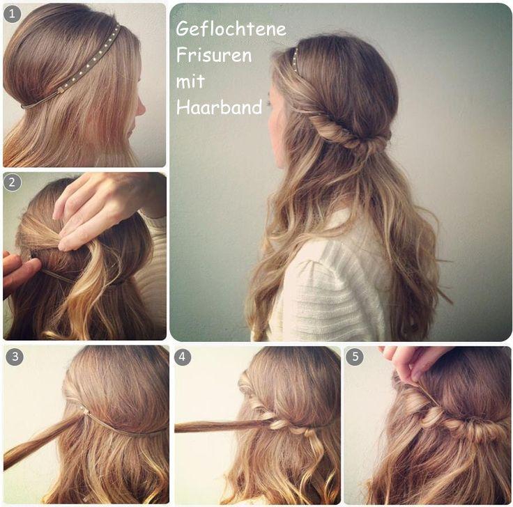 Die Besten 25 Einfache Frisuren Lange Haare Ideen Auf Pinterest
