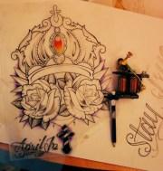 sick tattoo design. #tattoo #tatttoos