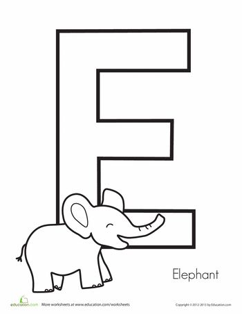 Best 25+ Letter e worksheets ideas on Pinterest