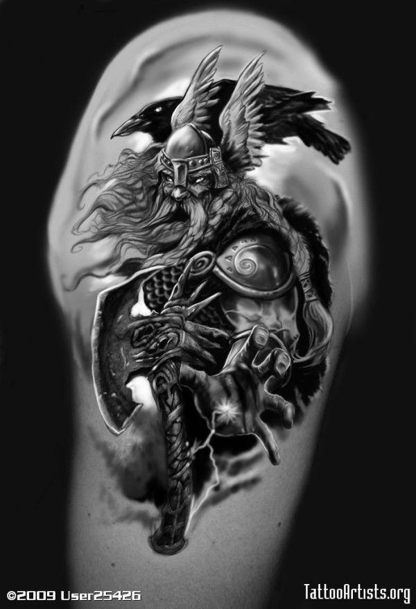 20 Nordic Viking Knocks Tattoos Ideas And Designs