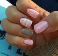 Baby shower nails | Nails | Pinterest | Baby girl nails ...