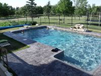 Discover true luxury with our classic rectangle pool! Get