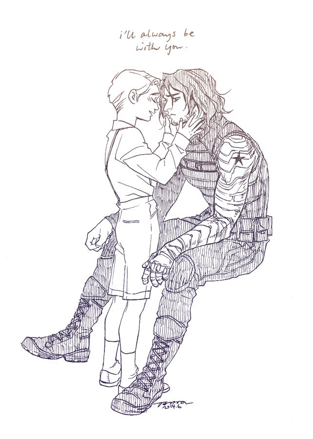2011 best images about Stucky/Captain America/Winter