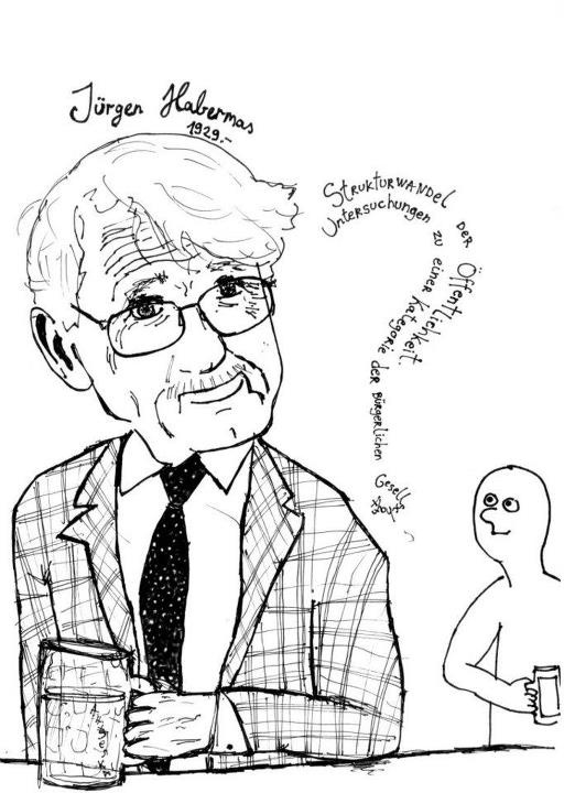 Jürgen Habermas (1929-) is a German sociologist working at