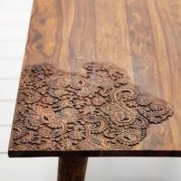 17 Best ideas about Wood Table Design on Pinterest