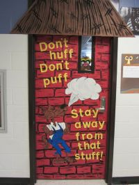 red ribbon door decorating | Red Ribbon Week Door ...