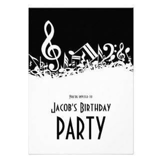 17 Best images about Music note invites on Pinterest