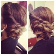 #updo #hair #longhair #bridalhair