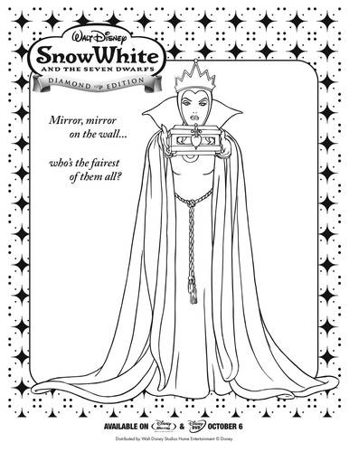 95 best images about Hobby colouring pages Snow White & 7