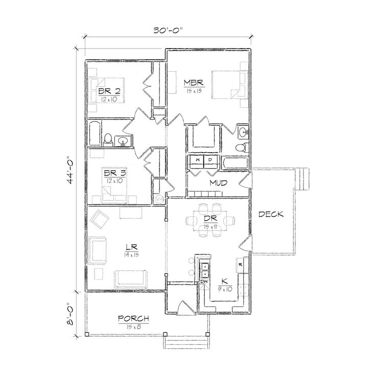 1000+ ideas about Bungalow Floor Plans on Pinterest