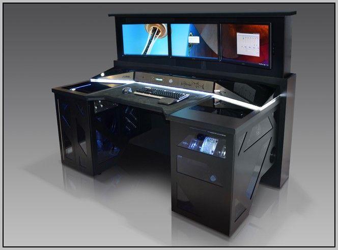 17 Best ideas about Gaming Desk on Pinterest  Pc setup