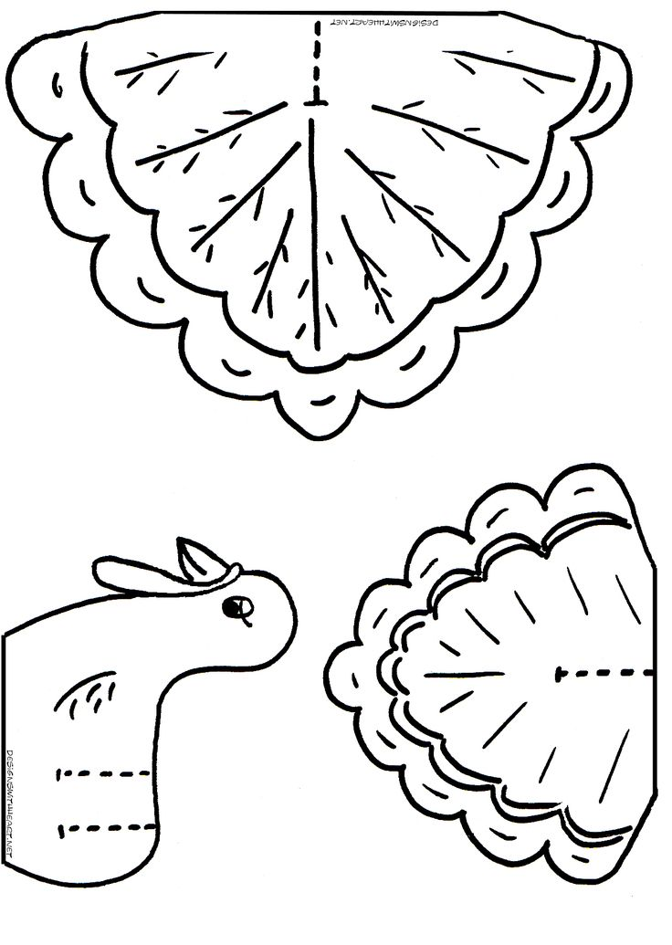 Thanksgiving Pictures To Color For Toddlers