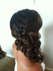 side braid updo hairstyles