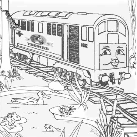 39 best Train Coloring Sheets images on Pinterest